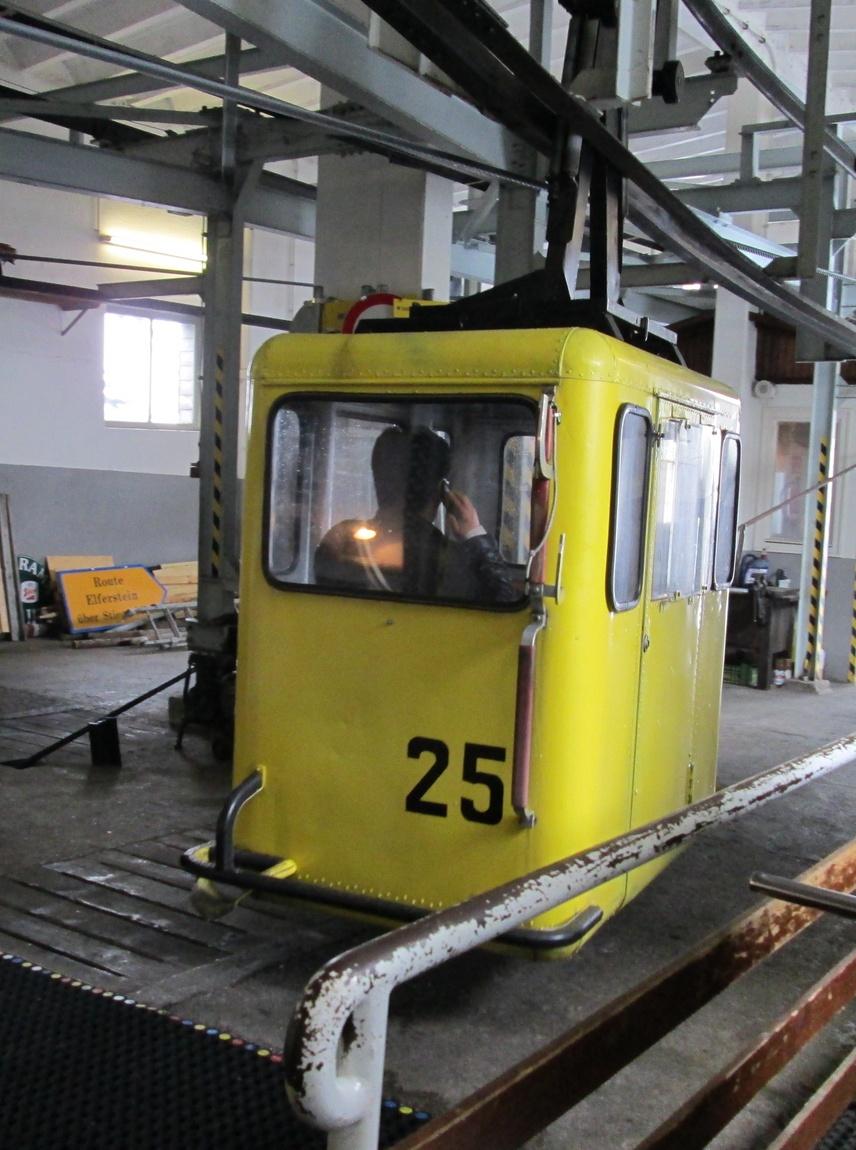вагон канатной дороги Австрия
