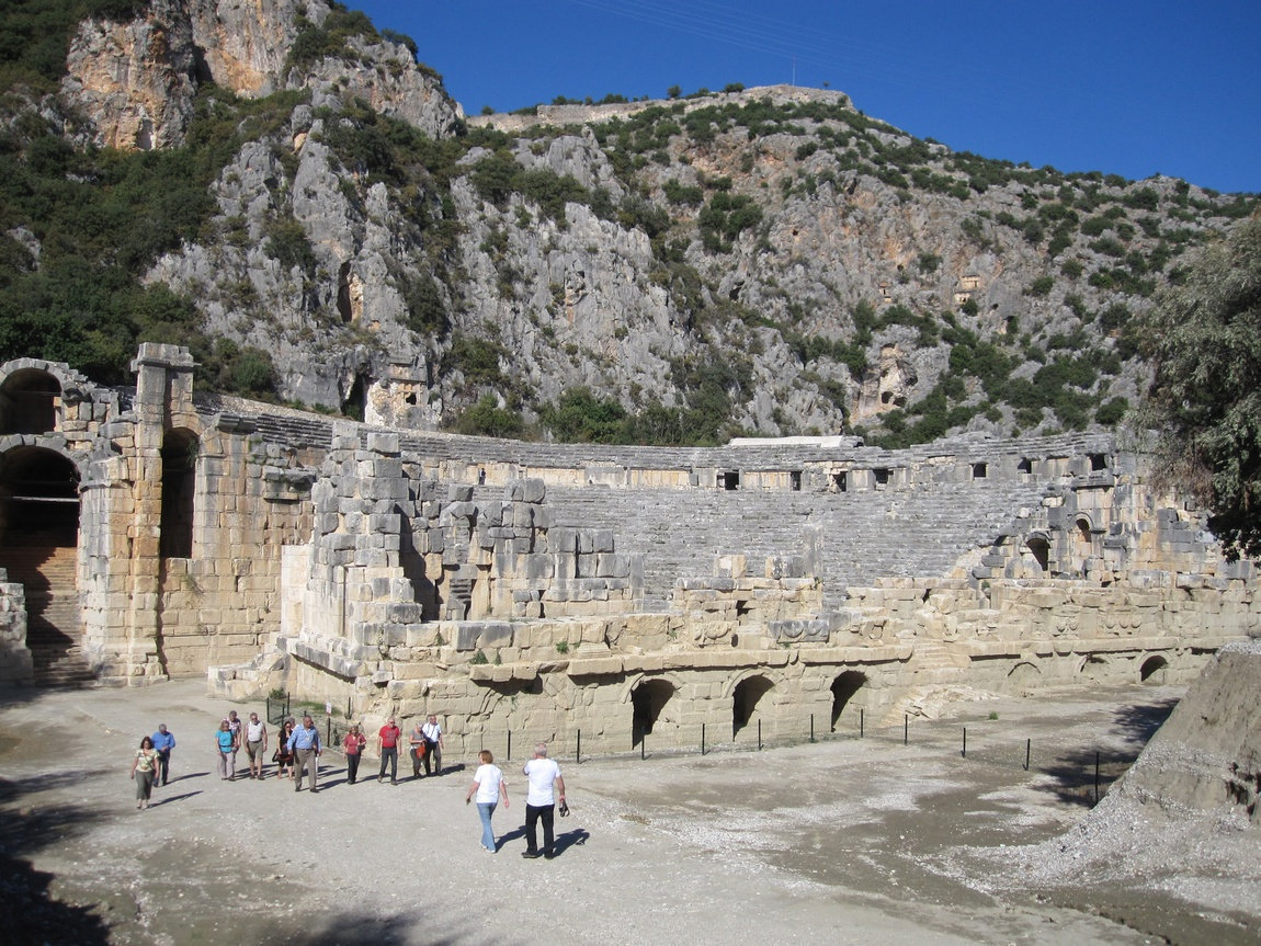 Демре-Кале Турция - древний театр