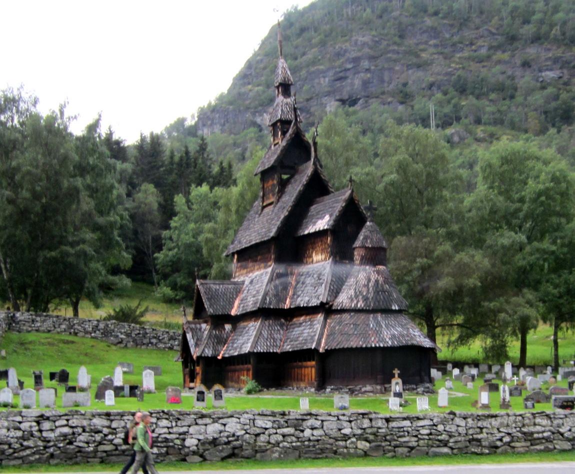 Деревянная церковь. Норвегия