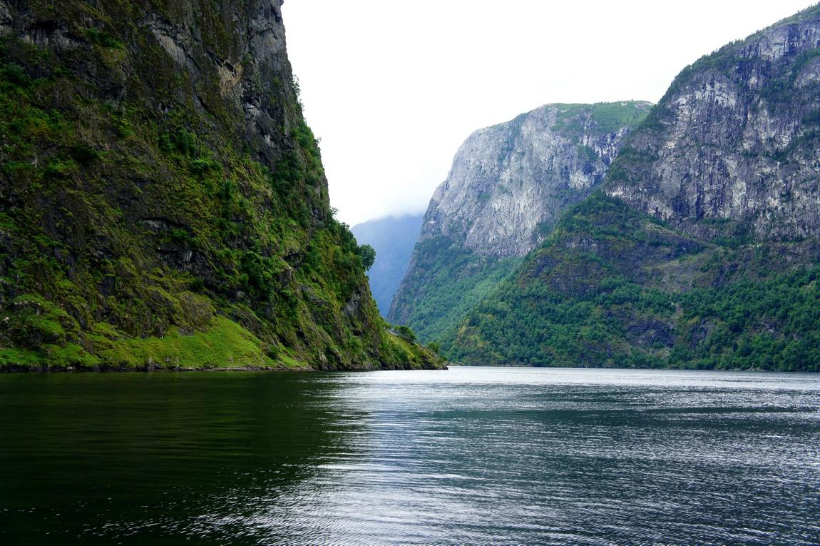 Фьорды в Норвегии