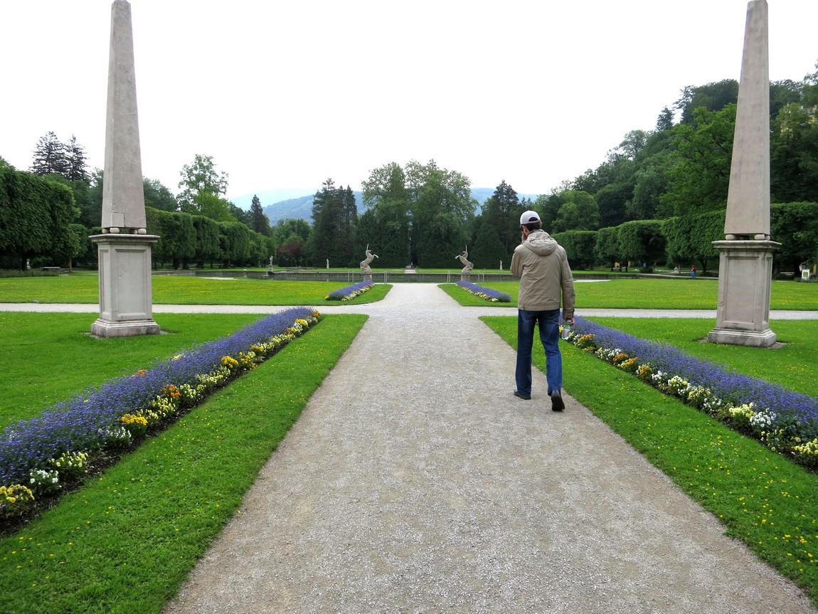 Парк в Зальцбурге