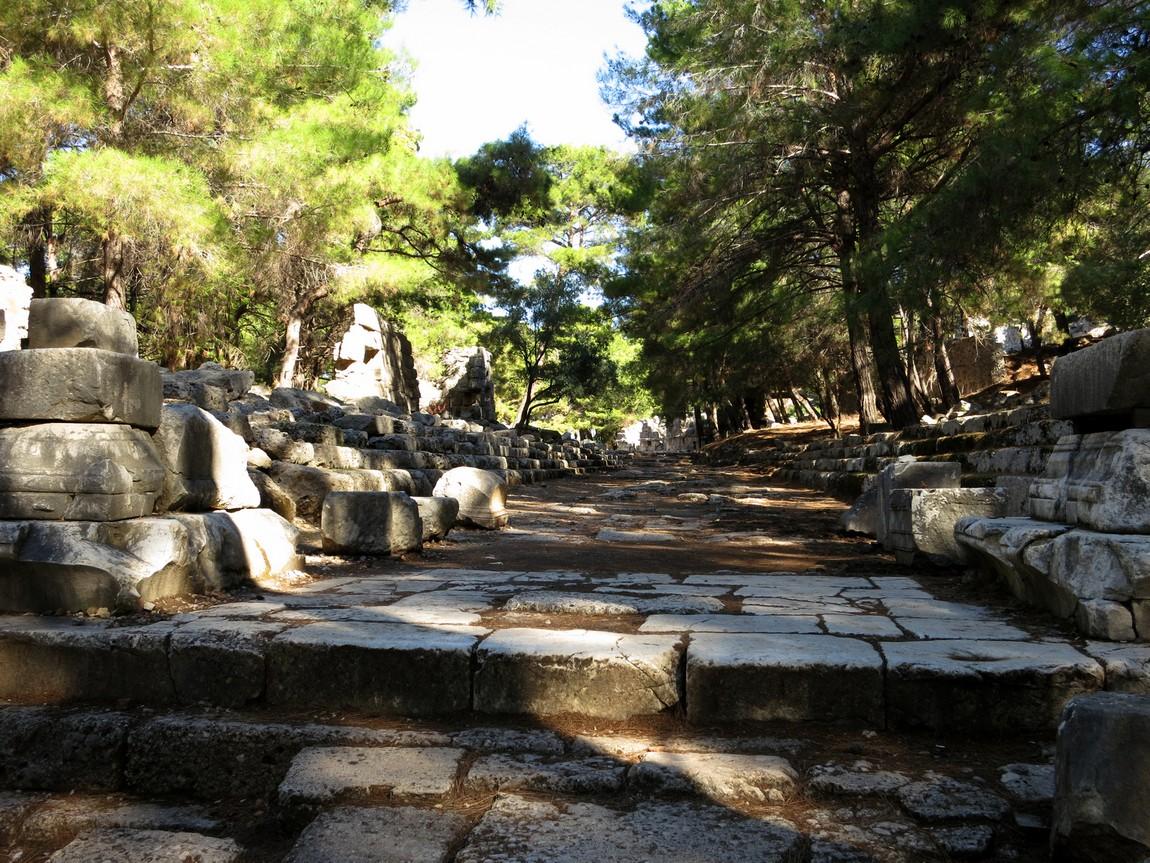 Фазелис, руины (Турция)
