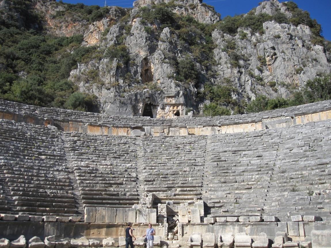 Античный театр, Турция