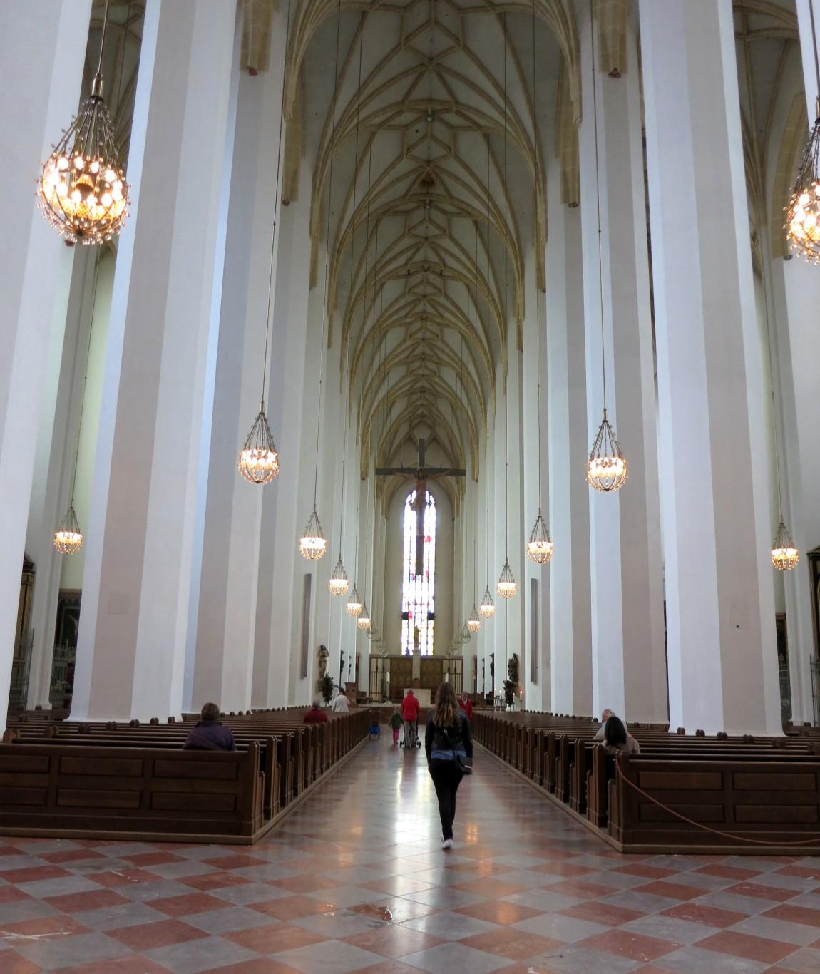 Собор Фрауенкирхе в Мюнхене (Германия)