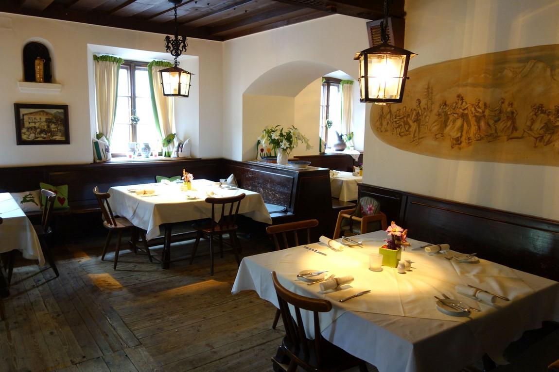 Уютный ресторан. Санкт Гильген, Австрия