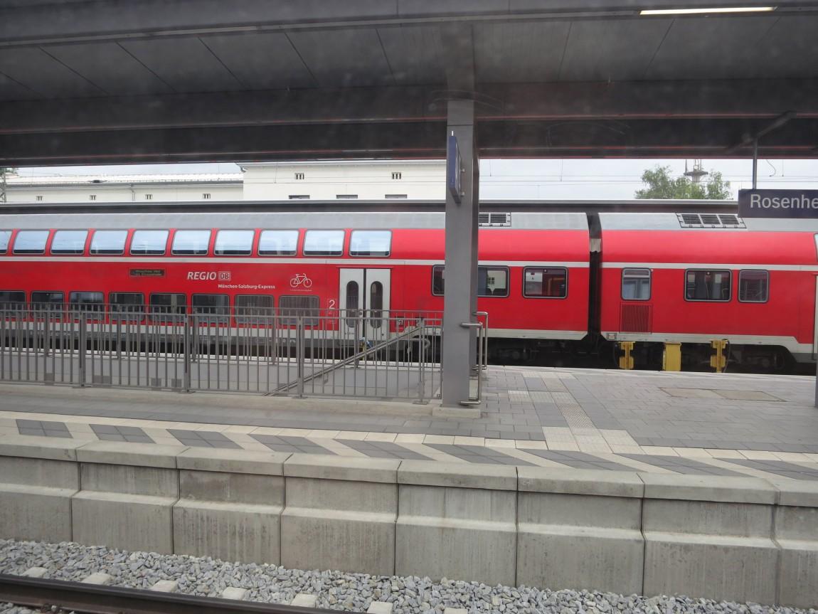 Поезд из Мюнхена в Зальцбург