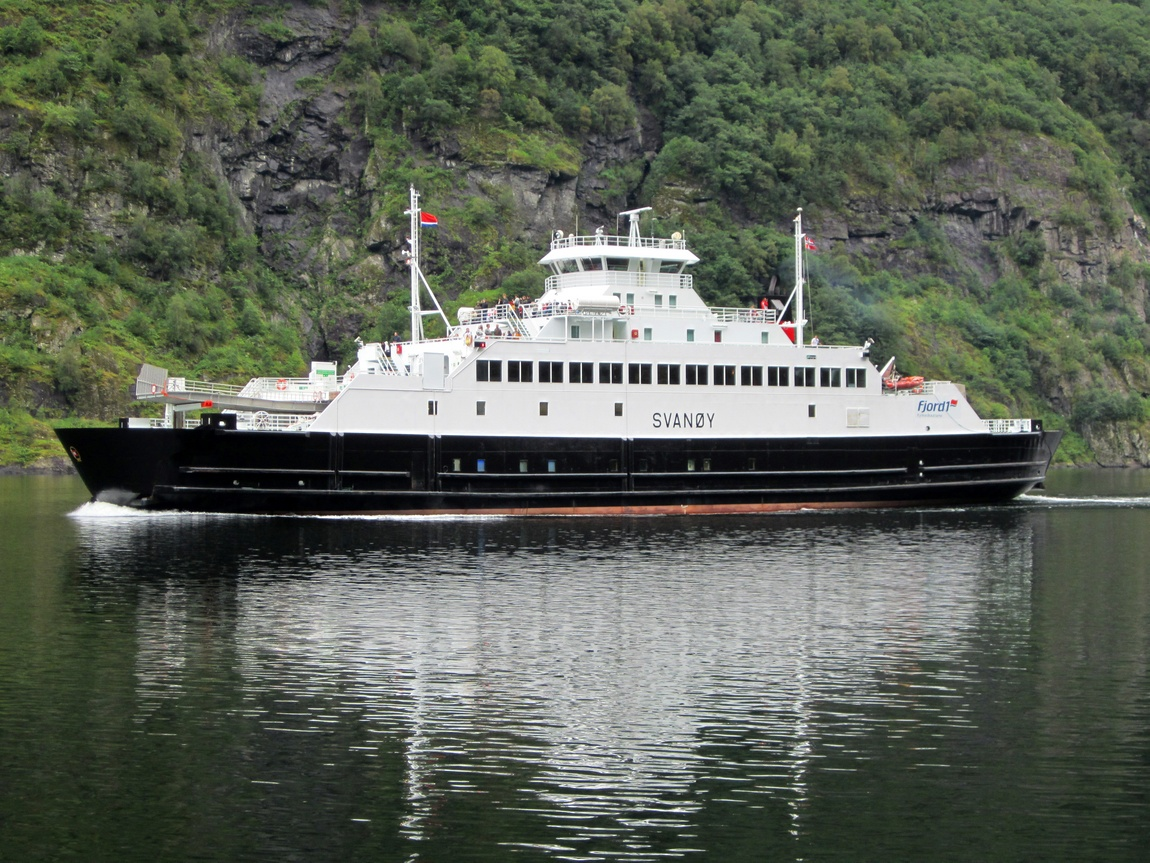 Прогулочные катера в Норвегии.