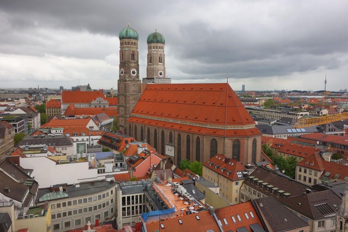 Мюнхен, Германия. Собор Фрауенкирхе