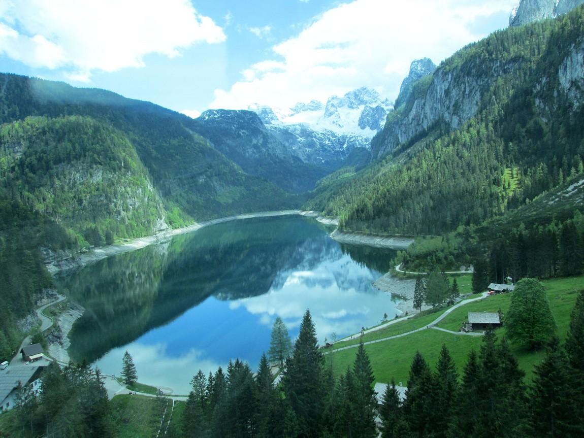 Озеро Gosausee Австрия