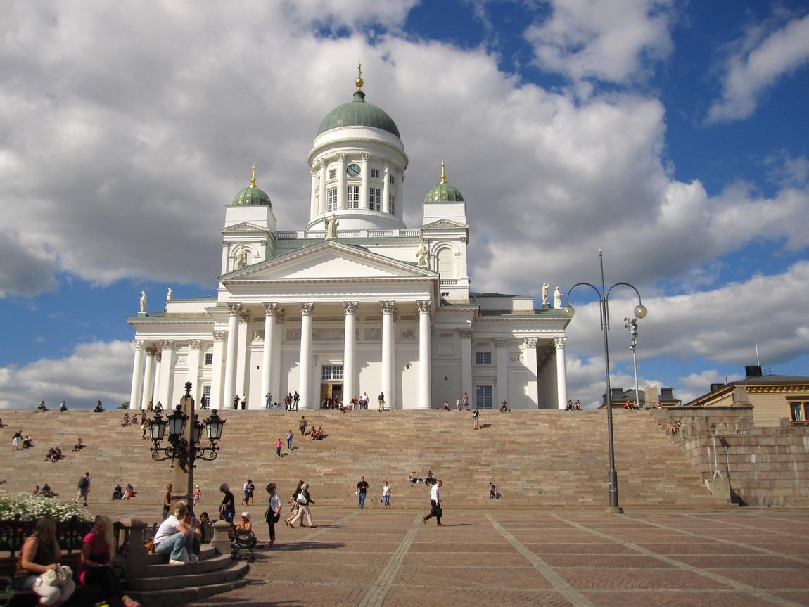 Собор Святого Николая (Кафедральный). Хельсинки, Финляндия