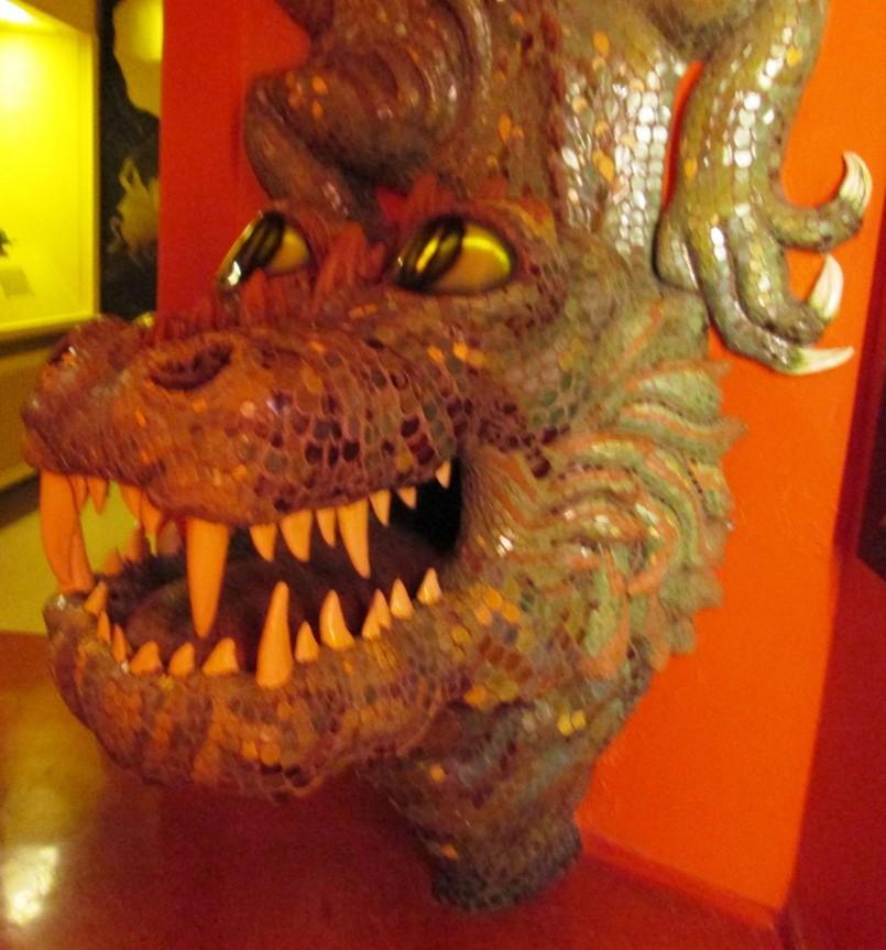 Дракон Зальцбург, музей Природы АВстрия