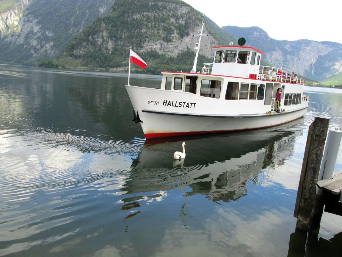 Озеро городка Санкт Гильген, Австрия