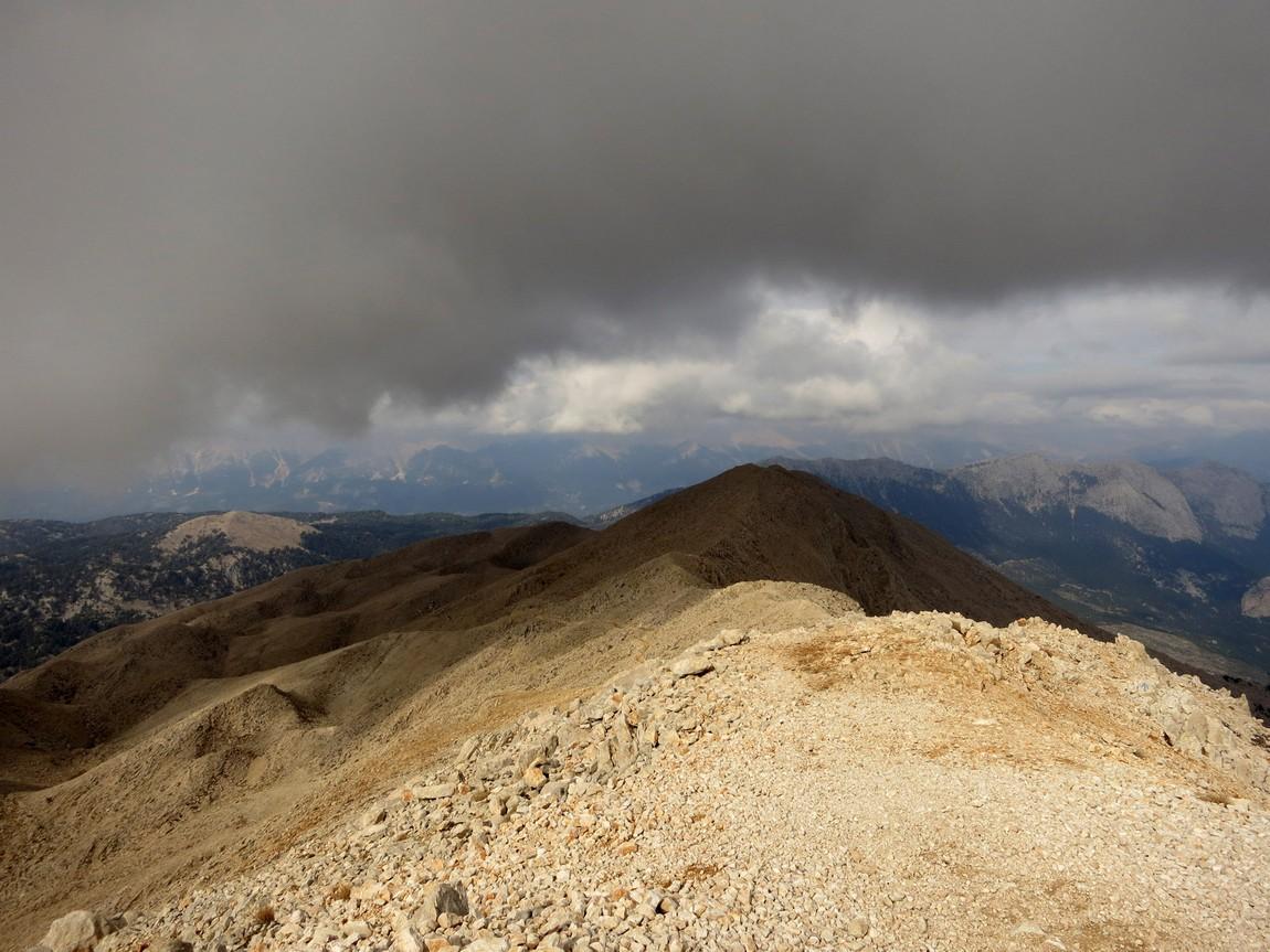 Вид с горы Тахталы (Олимпос). Турция