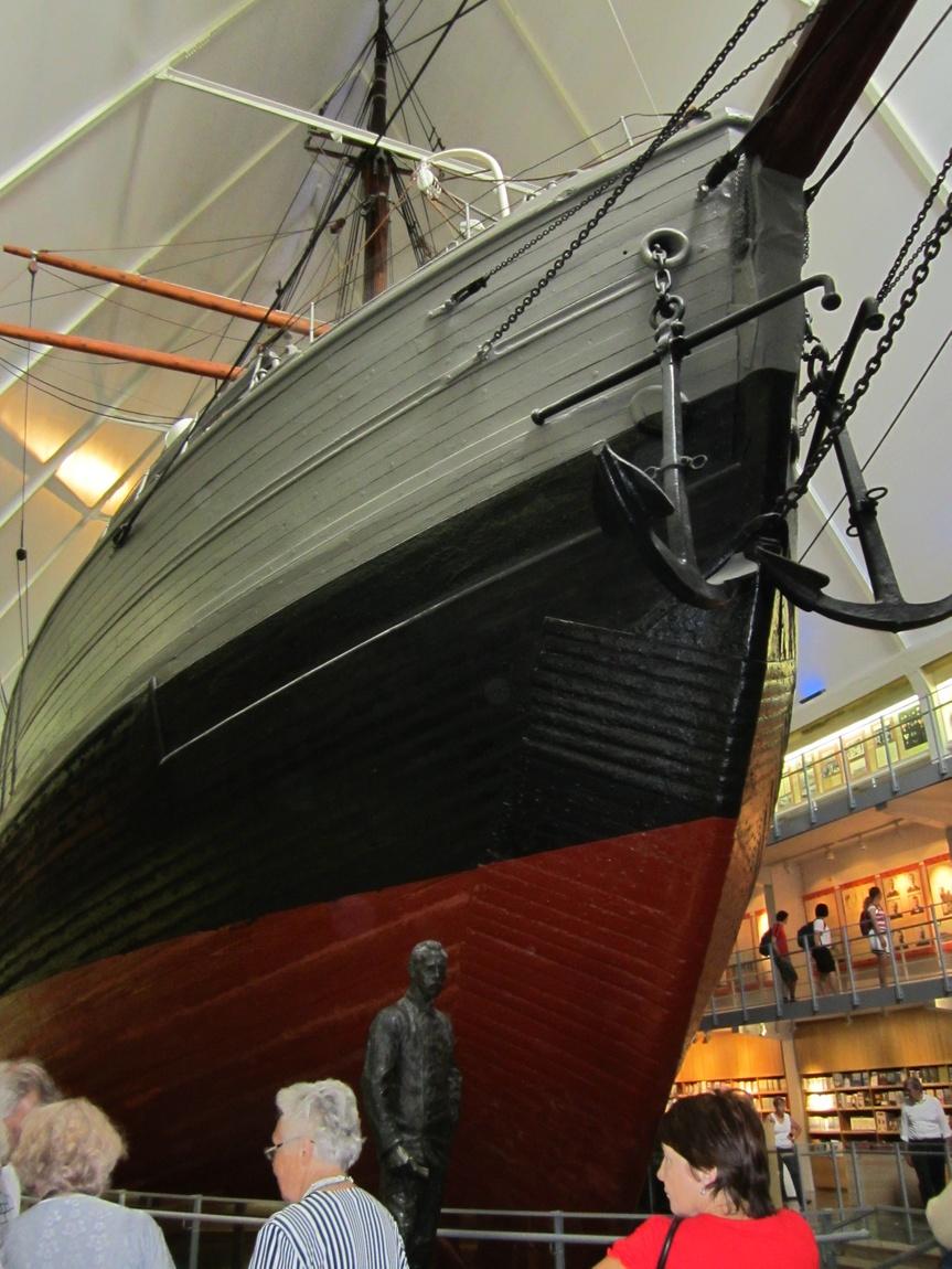 Музей кораблей в Осло. (Норвегия) Музейный экспонат в Норвегии