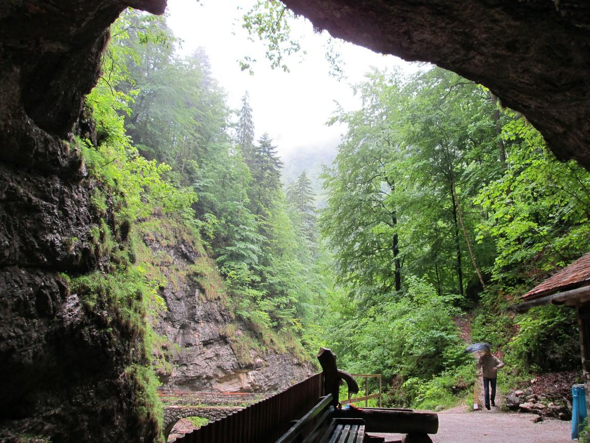 Вход в пещеры Koppenbrüller (Австрия)