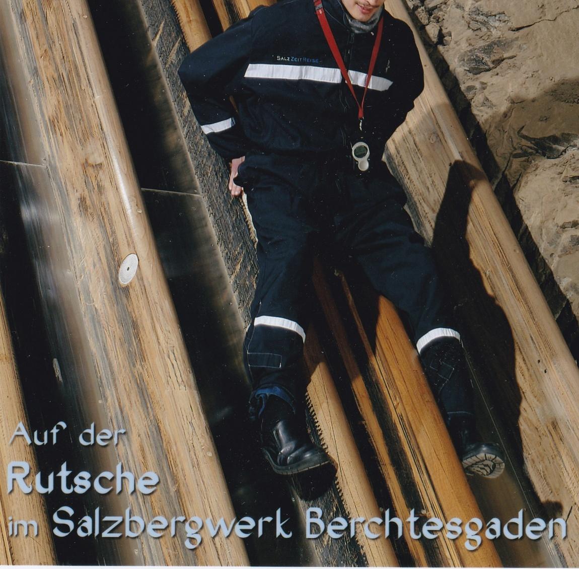 """""""Спуск в преисподнюю"""" по шахтёрской горке в соляные шахты Зальцбергверк (Австрия)"""