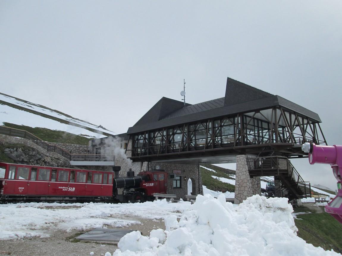 Железная дорога в гору Штафберг Австрия