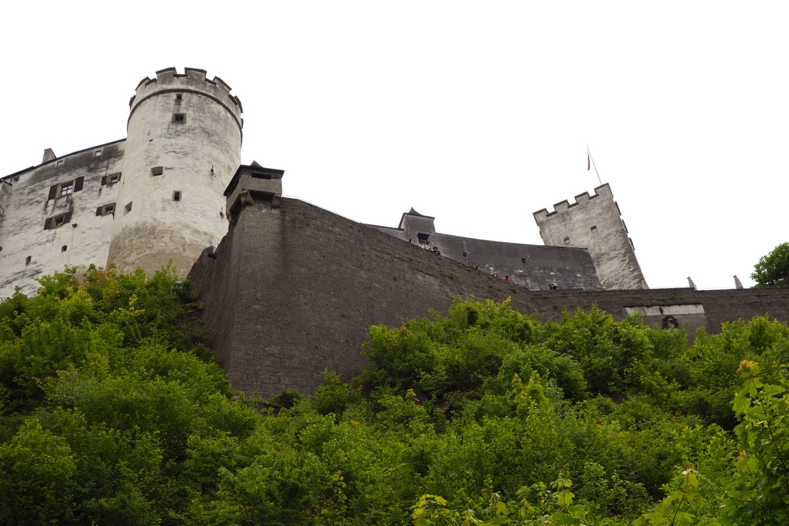 Зальцбург, крепость Хоэнзальцбург