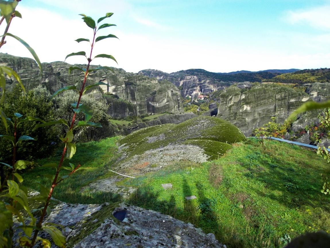 Горы Метеоры в Греции