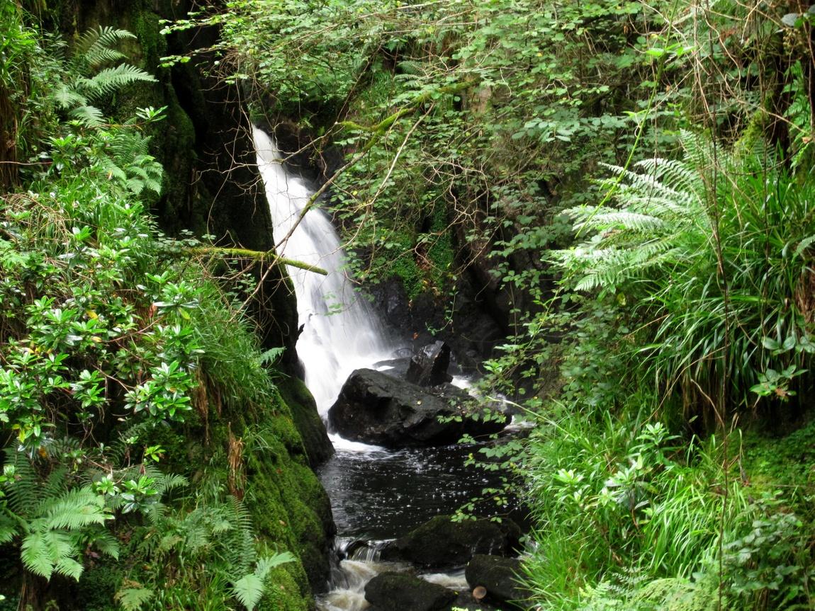 Водопад Англия