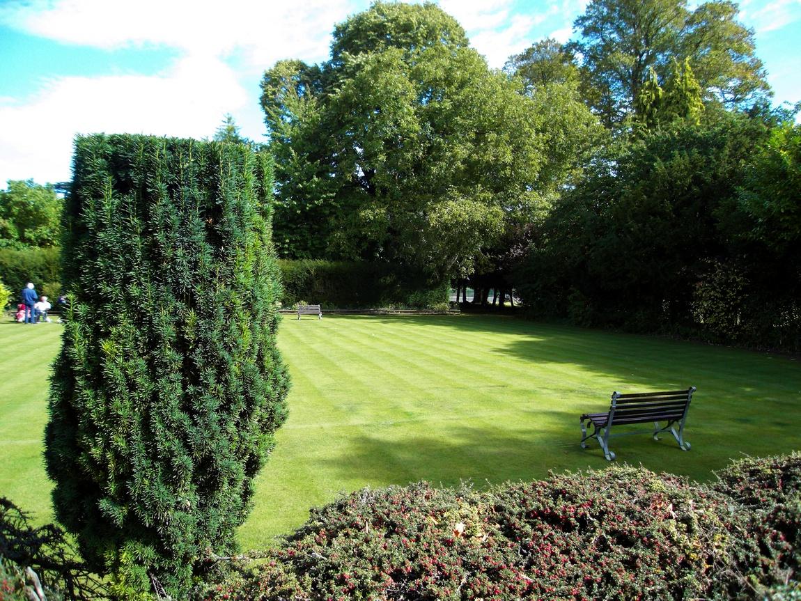 Парк сельскохозяйственного колледжа в Англии.