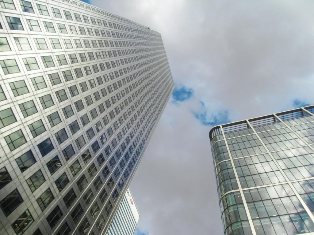 Многоэтажные дома в Лондоне
