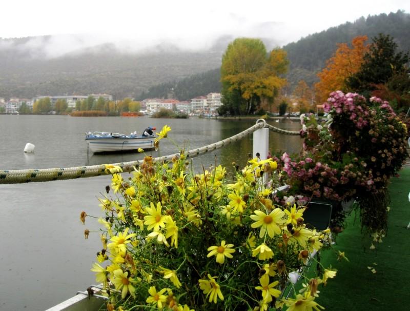 27 На берегу озера Орестиада в Греции
