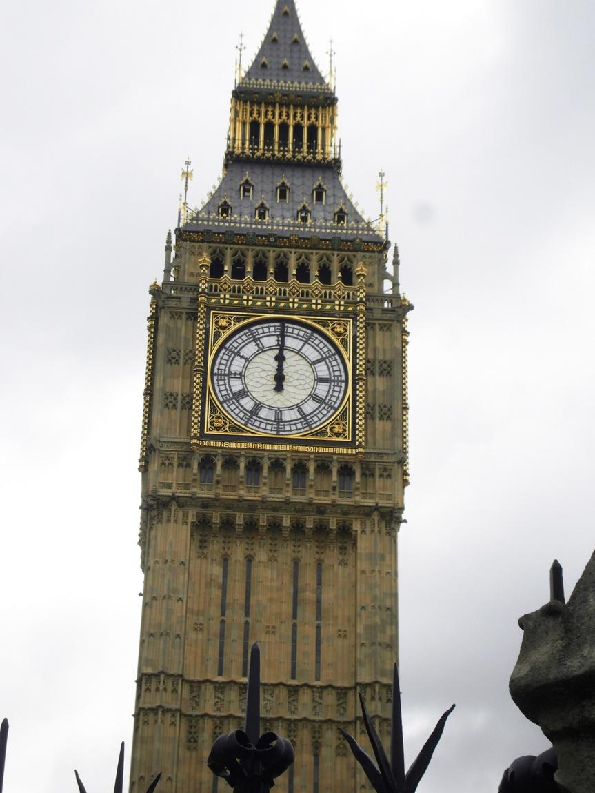 Часы Биг-Бен Лондон