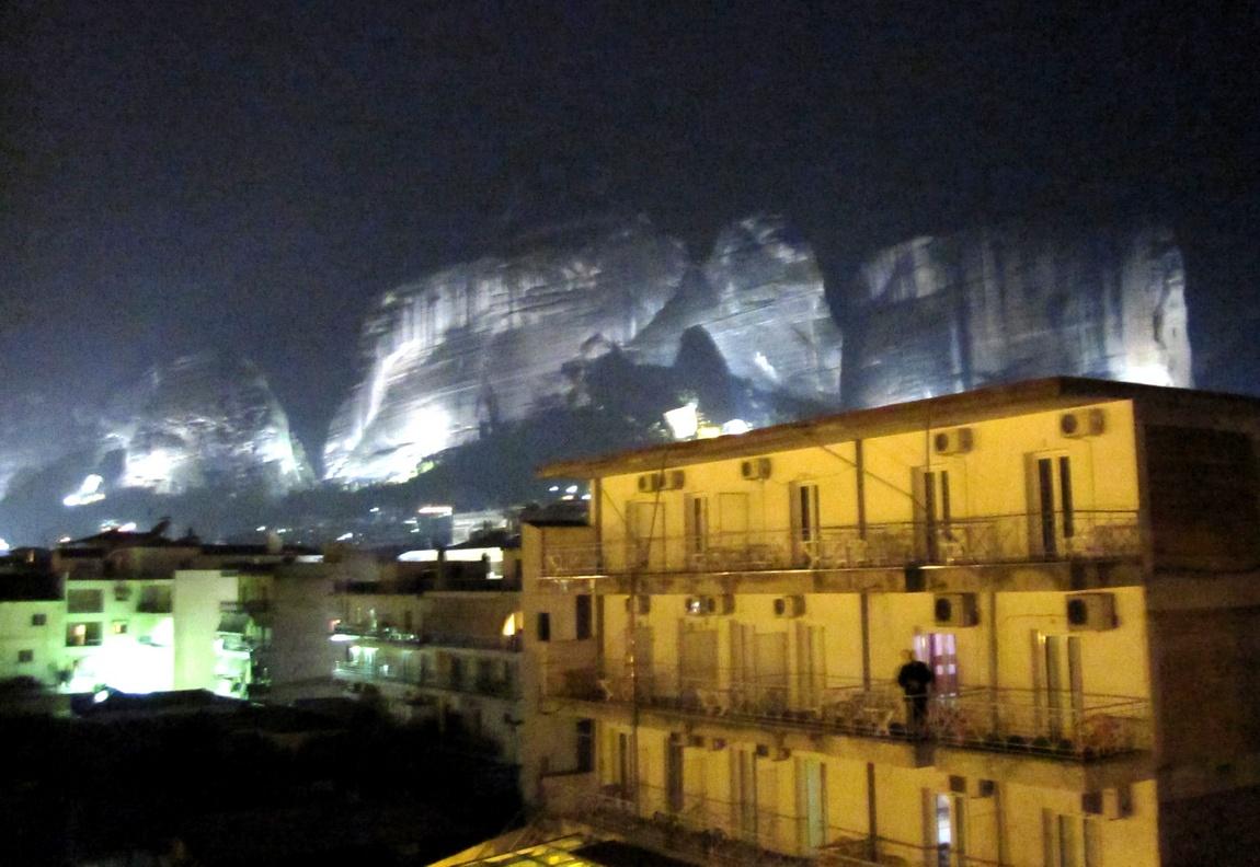 Метеоры. Ночь, Каламбака