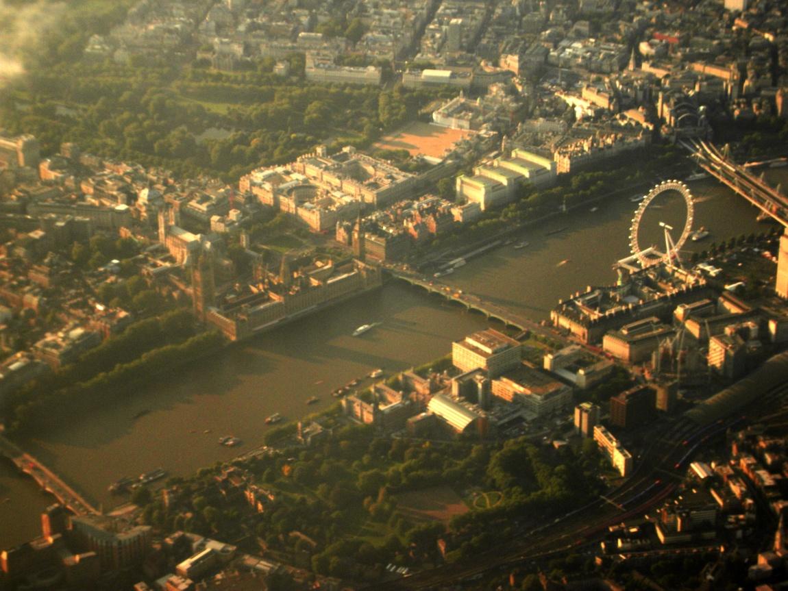 Лондон сверху