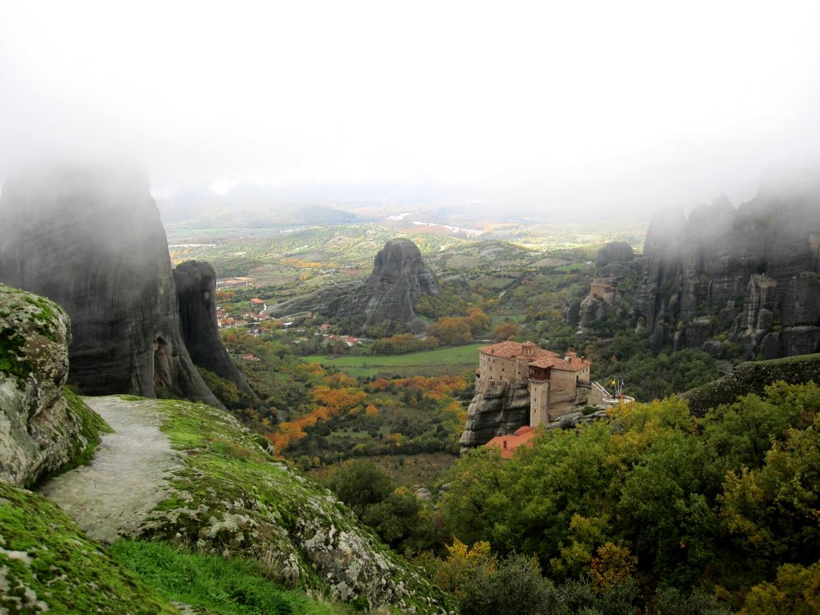 Метеоры, монастыри в Греции