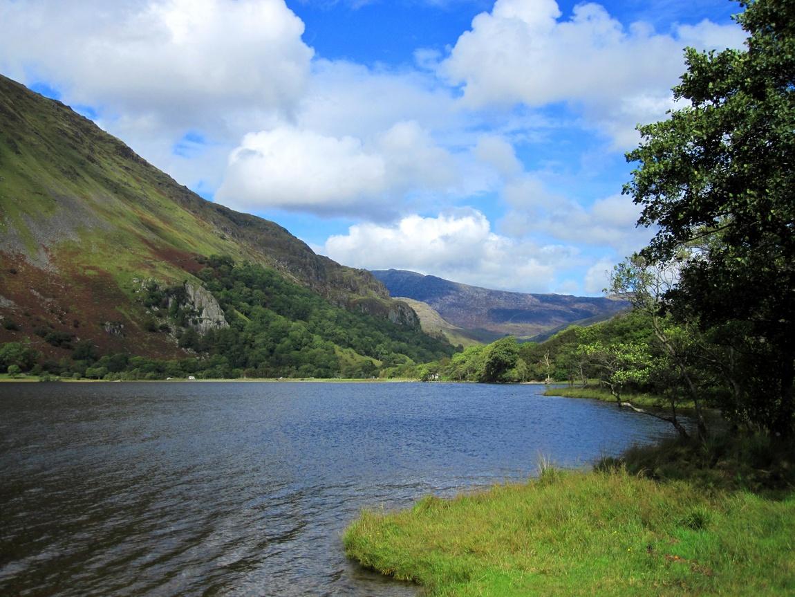 Озеро в Уэльсе