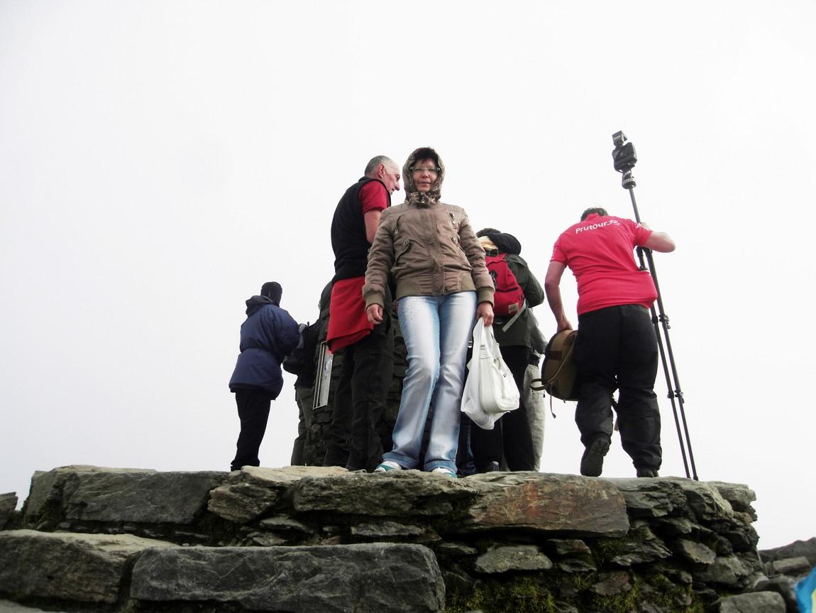 Покорение вершины в Сноудонии Англия