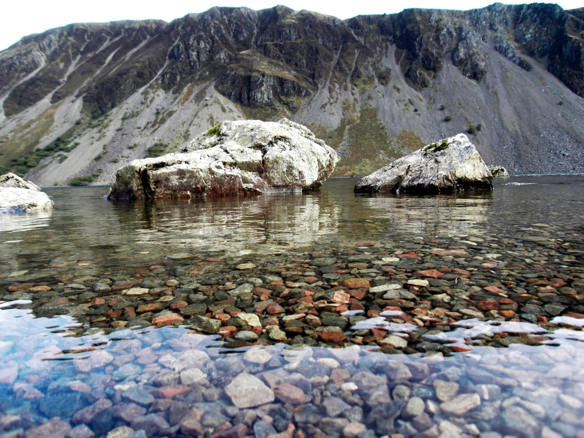 Озеро Васт Уотер – самое глубокое в стране. Озёрный край. (Англия)