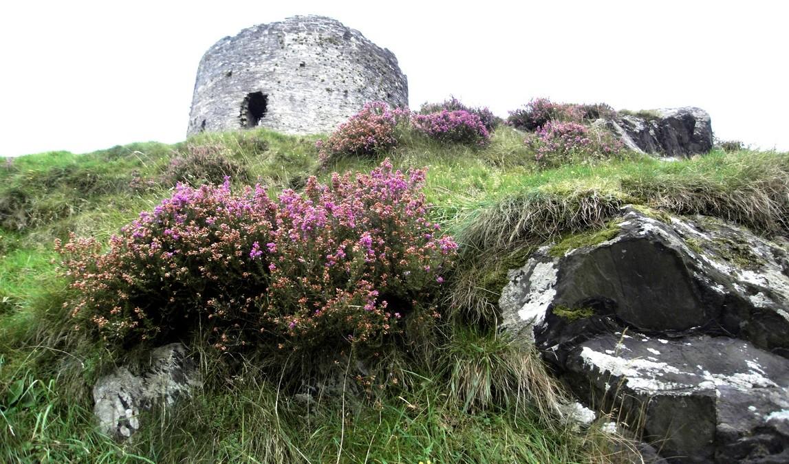 Руины башни замка Долбадарн. Уэльс