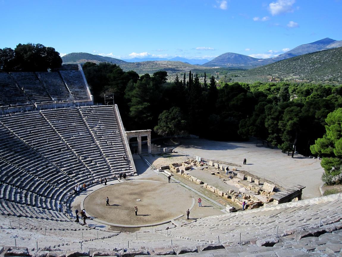 Эпидавр, Греция