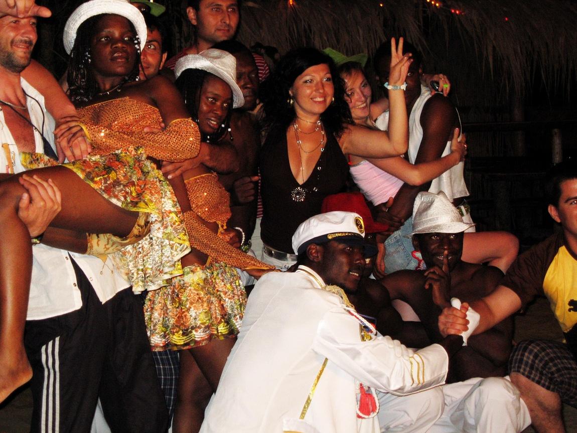 Африканские танцоры Анапа