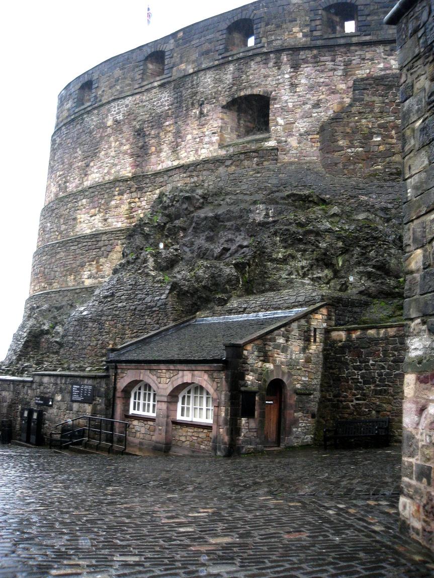 Шотландия -Эдинбургский замок