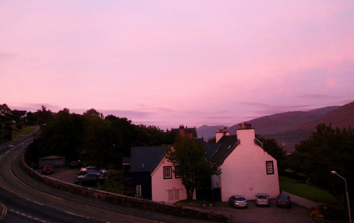 Рассвет в Шотландии