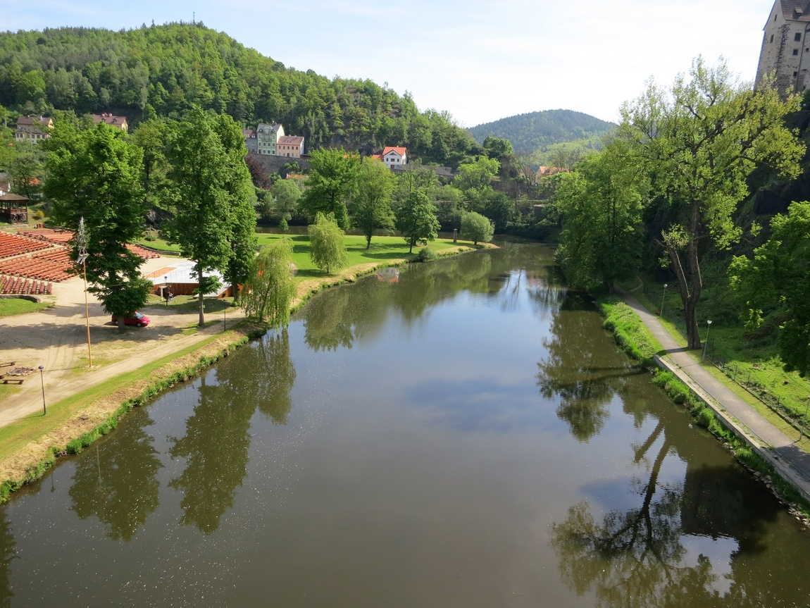Чехия - река Оргже