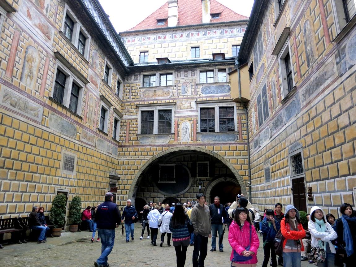 Крумловский замок (Чехия)