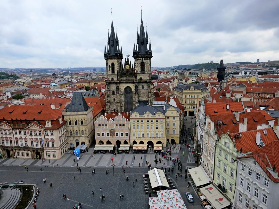 Тынский собор в Праге
