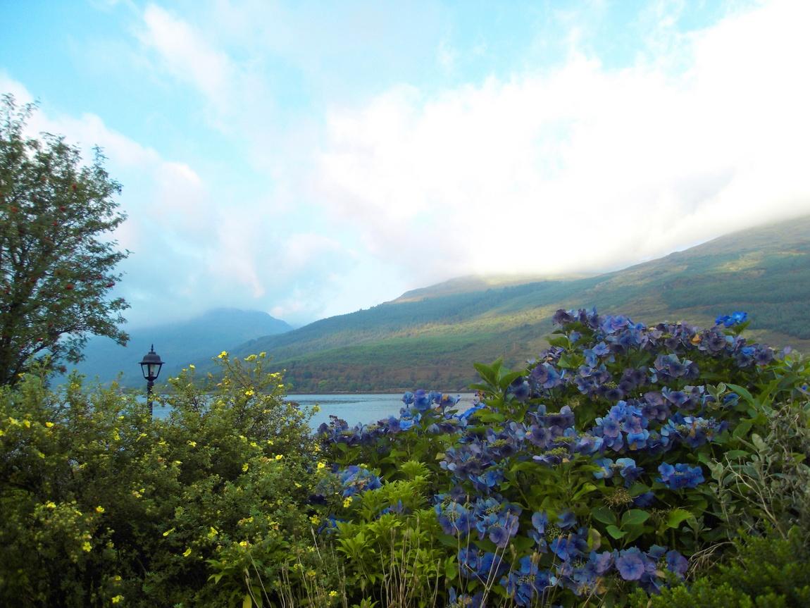 Озеро Лох Лонг в Шотландии