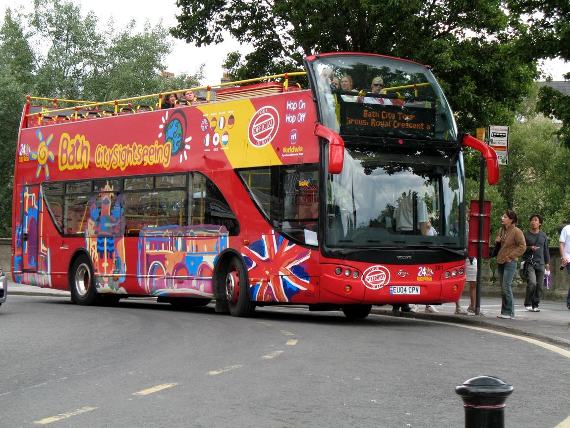 Двухярусный автобус - Бат