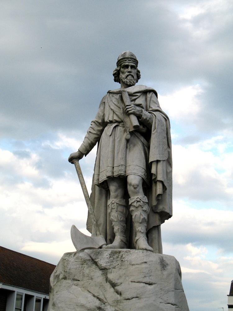 Памятник Альфреду Великому, Англия