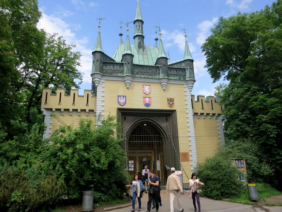 Музей кривых зеркал в Чехии