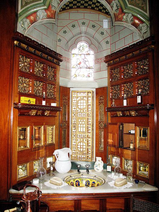 Замок Кардифф (Шотландия) -ванная комната