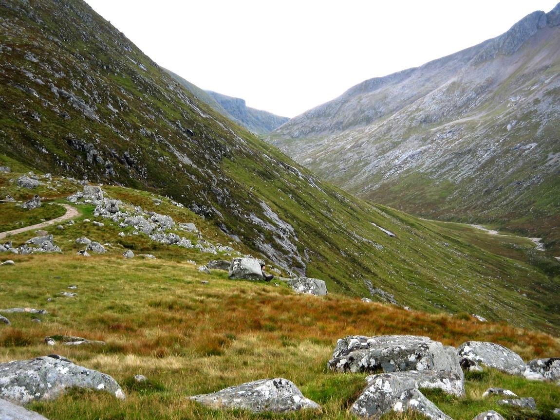 У горы Бен Нэвис в Шотландии