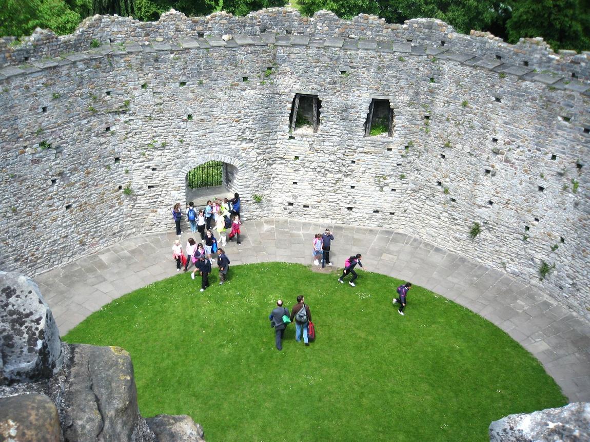 Норманнская крепость