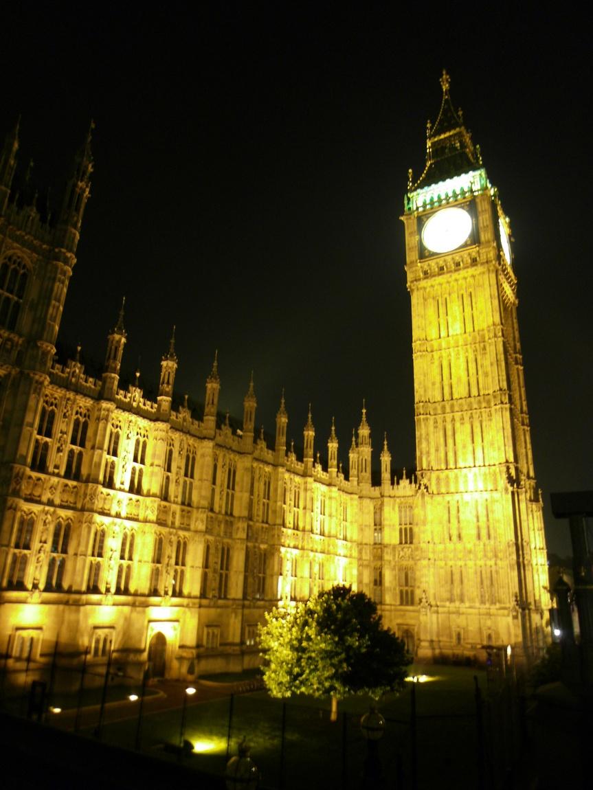 Часы Бик-Бен -Лондон